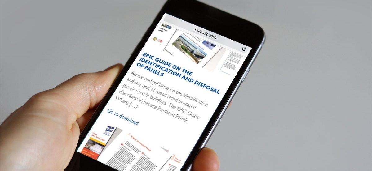 EPIC Web launch mobile