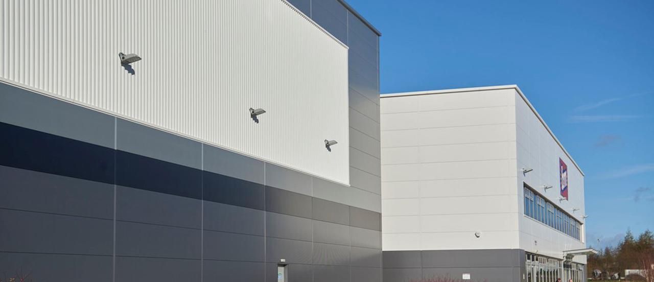 Retail Trapezoidal Panels Offsite